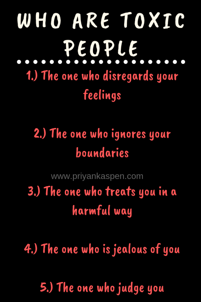 Who are toxic people