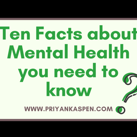 Ten Facts about Mental Health you need to know