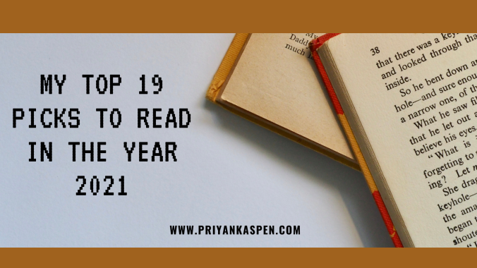 list of books to read in the year 2021