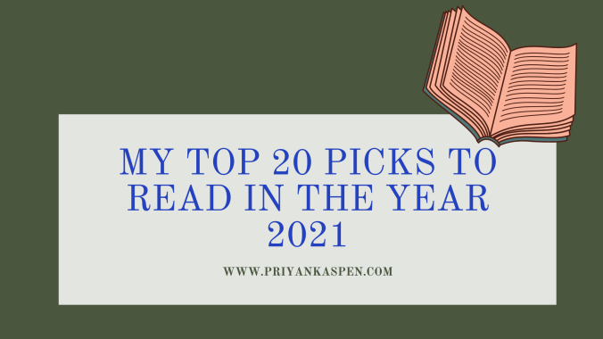 Books To Read in the Year 2021